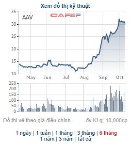 Người nhà Phó TGĐ Việt Tiên Sơn địa ốc vừa bán hết số cổ phiếu AAV, thu về gần 300 tỷ đồng - Ảnh 1.