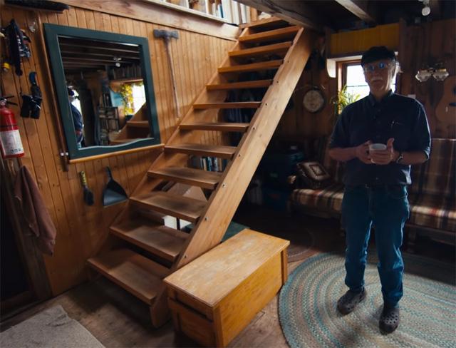 Ông lão mua một căn nhà rộng 70m2 trên mặt nước, sống nhàn nhã một mình hơn 30 năm: Không bị vật chất bó buộc , thế giới tinh thần trở nên phong phú hơn! - Ảnh 21.