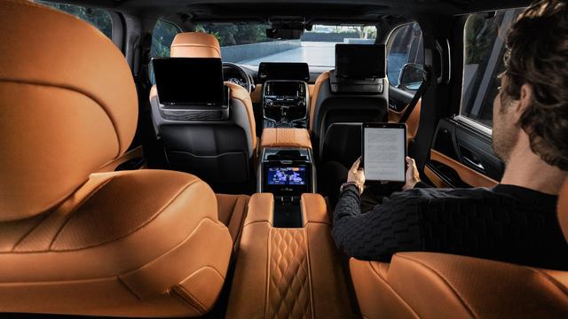 Ra mắt Lexus LX 600 thế hệ mới: Lột xác từ ngoài vào trong, phiên bản siêu sang cạnh tranh Mercedes-Maybach GLS 600 - Ảnh 9.