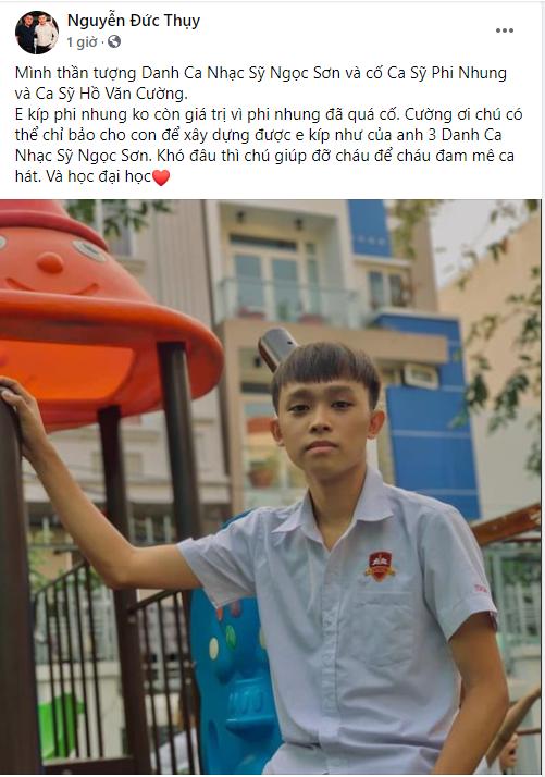 Bầu Thụy - người giàu thứ 9 trên sàn chứng khoán Việt Nam ngỏ ý đỡ đầu Hồ Văn Cường: Khó đâu thì chú giúp đỡ cháu để cháu đam mê ca hát và học đại học - Ảnh 1.