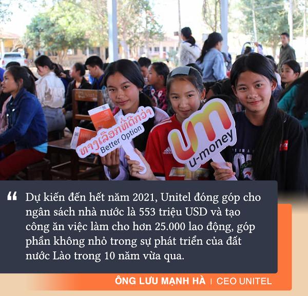 12 năm Unitel tại Lào: Cái khó của số 1 và khát vọng 'sếu đầu đàn' dẫn dắt cuộc cách mạng số - Ảnh 4.