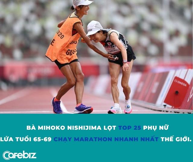 Từ câu chuyện bà lão Nhật Bản 66 tuổi lọt top chạy nhanh nhất thế giới: Đừng bao giờ coi thường giấc mơ của chính mình! - Ảnh 2.