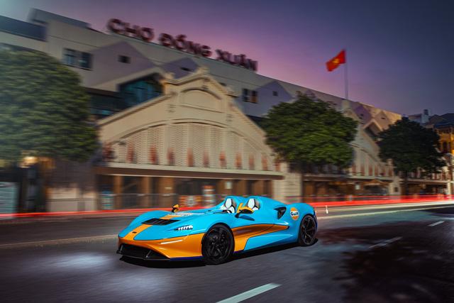 Siêu phẩm không kính McLaren Elva bất ngờ lộ ảnh thả dáng tại Hà Nội, kết thúc hành trình vòng quanh thế giới - Ảnh 3.