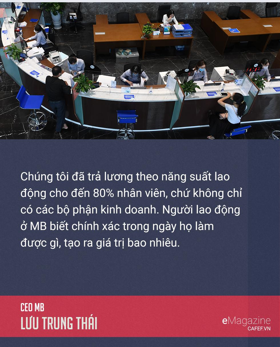 CEO Lưu Trung Thái giải mã hành trình 'lột xác' ngoạn mục của MB - Ảnh 10.