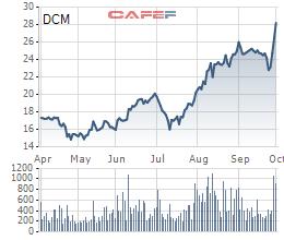Đạm Cà Mau (DCM): Cổ phiếu tăng tốt, nhà máy cán mốc sản lượng 8 triệu tấn ure - Ảnh 1.