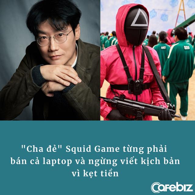'Cha đẻ' Squid Game – biểu tượng sinh tồn ngoài đời thực: Kịch bản bị từ chối suốt 10 năm, phải bán cả laptop, tạm dừng viết vì kẹt tiền - Ảnh 2.