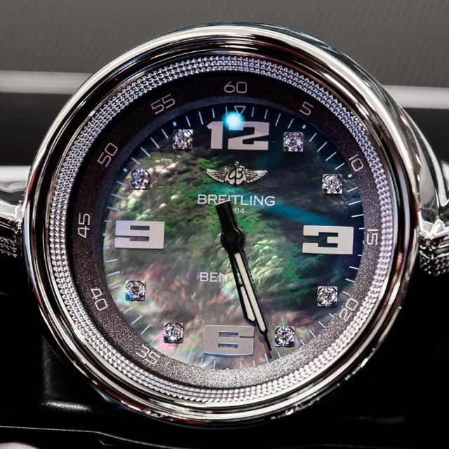 Đồng hồ kim cương trên Bentley Bentayga của đại gia Hà thành có giá gần 3 tỷ đồng, đắt hơn một chiếc Mercedes-Benz GLC 300 - Ảnh 3.