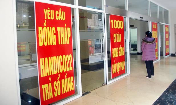 Cận cảnh khu chung cư ở Hà Nội chủ đầu tư bị điều tra lừa dối khách hàng - Ảnh 9.