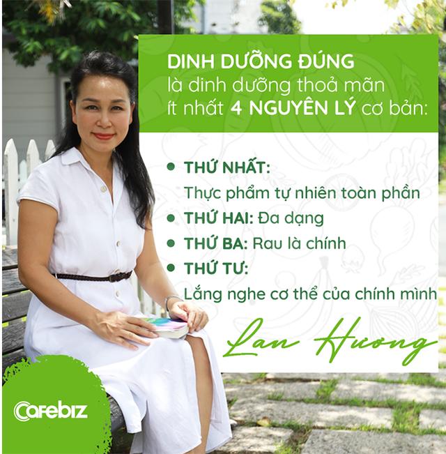 Health Coach Trần Lan Hương: Chúng ta được dạy đủ thứ nhưng ĂN ĐÚNG CÁCH lại không được học - Ảnh 2.