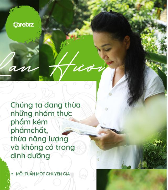 Health Coach Trần Lan Hương: Chúng ta được dạy đủ thứ nhưng ĂN ĐÚNG CÁCH lại không được học - Ảnh 1.