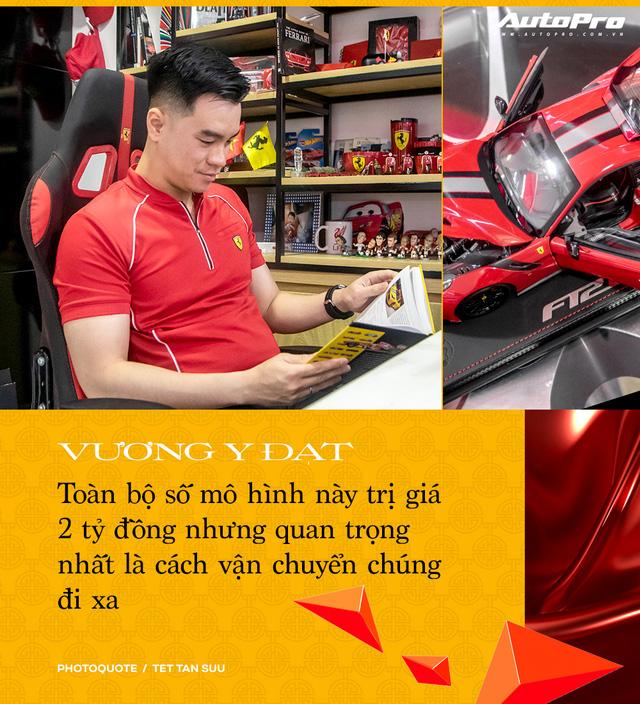 Gặp người sở hữu 'Ferrari' nhiều nhất Việt Nam: 'Đã chi 2 tỷ nhưng chưa dừng lại, phải mua hết dù trùng mẫu' - Ảnh 2.