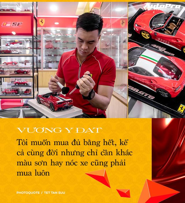 Gặp người sở hữu 'Ferrari' nhiều nhất Việt Nam: 'Đã chi 2 tỷ nhưng chưa dừng lại, phải mua hết dù trùng mẫu' - Ảnh 15.