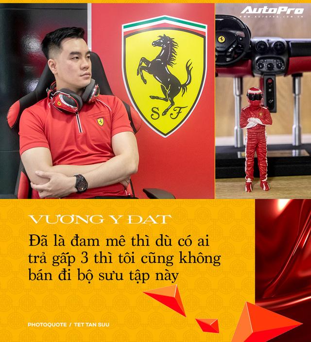 Gặp người sở hữu 'Ferrari' nhiều nhất Việt Nam: 'Đã chi 2 tỷ nhưng chưa dừng lại, phải mua hết dù trùng mẫu' - Ảnh 17.