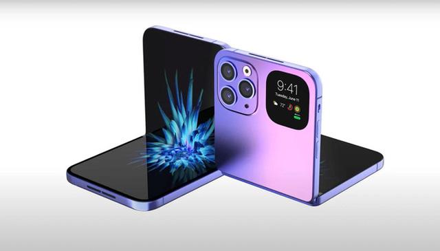 Apple sẽ ra mắt iPhone màn hình gập dạng vỏ sò trong tương lai?  - Ảnh 1.