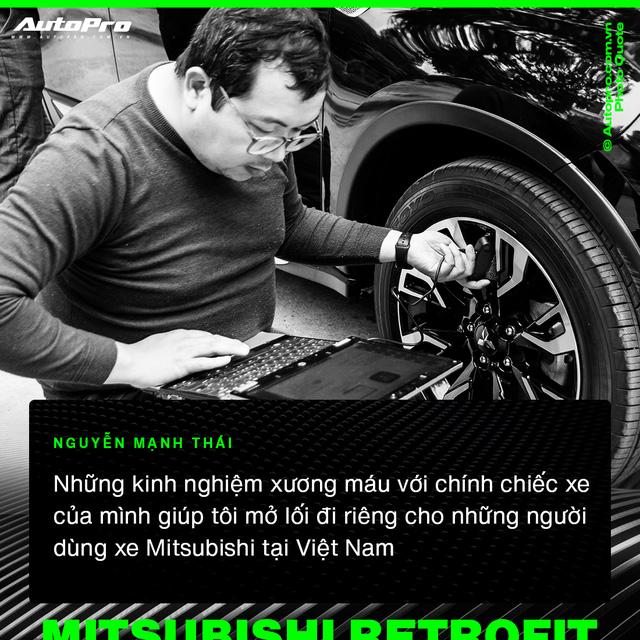 Mạnh Thái - Từ 'thợ vườn' bị khách giám sát 7 tiếng vì sợ hỏng xe tới chuyên gia biến hoá xe Mitsubishi tại Việt Nam  - Ảnh 1.