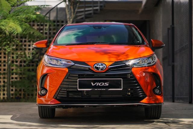 Lộ diện Toyota Vios 2021 tại Việt Nam: Đèn LED sang chảnh như Lexus, có bản thể thao cạnh tranh Honda City RS - Ảnh 9.