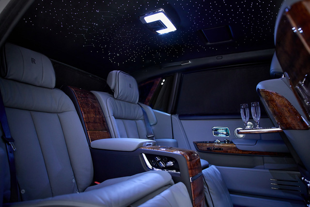Khám phá Rolls-Royce Phantom độc nhất vô nhị sử dụng gỗ Koa siêu quý hiếm - Ảnh 6.