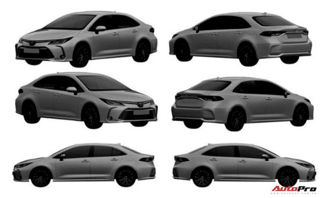 Liên tục lộ bộ phận mới, Toyota Corolla Altis 2021 rục rịch về Việt Nam đối đầu Mazda3 - Ảnh 1.