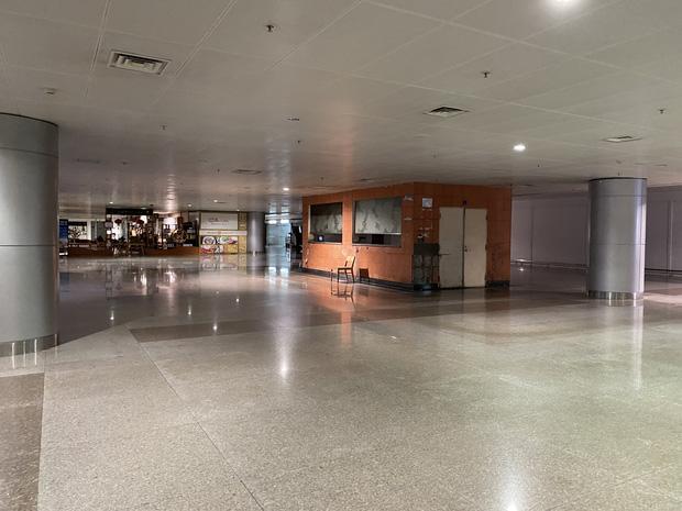 Chùm ảnh: Hình ảnh trái ngược ở ga quốc tế Tân Sơn Nhất trong năm nay và năm trước dịp gần Tết Nguyên đán - Ảnh 22.