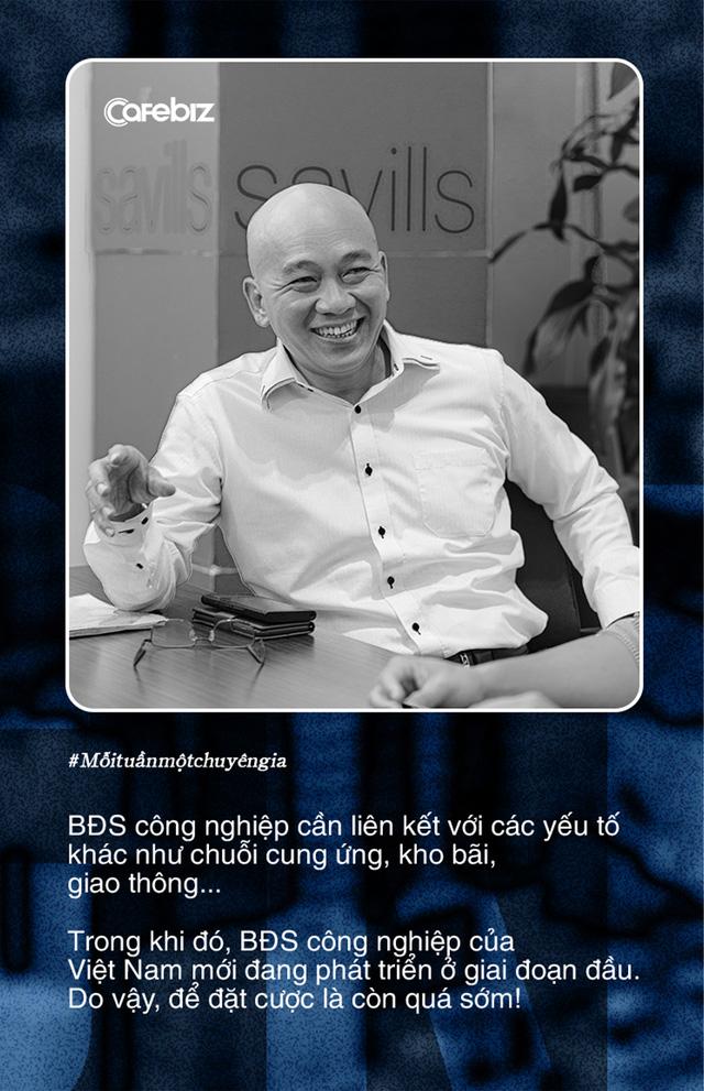 Tiến sĩ Sử Ngọc Khương: Còn quá sớm để nhà đầu tư Việt đặt cược vào bất động sản công nghiệp - Ảnh 1.