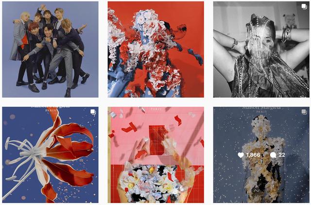 Gucci bị nghệ sĩ gốc Việt tố ăn cắp ý tưởng: Đạo nhái hình gốc từ năm 2016, giống từ cách chụp cận mặt người mẫu qua chiếc gương tay, đến bố cục, phông nền - Ảnh 10.