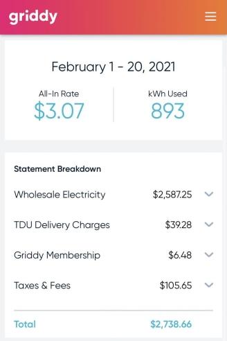 Không sử dụng máy rửa bát, máy giặt và cực kỳ tiết kiệm, người dân Texas tá hỏa khi phải trả gần 3.000 USD tiền điện chỉ trong 20 ngày - Ảnh 1.