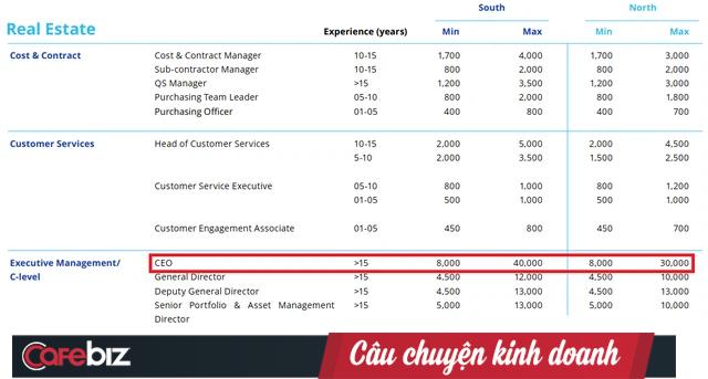 Hé lộ 3 ngành đang hot ở Việt Nam: CEO nhận lương tới 40.000 USD/tháng ~ 1 tỷ đồng, chưa gồm thưởng và các khoản khác - Ảnh 2.
