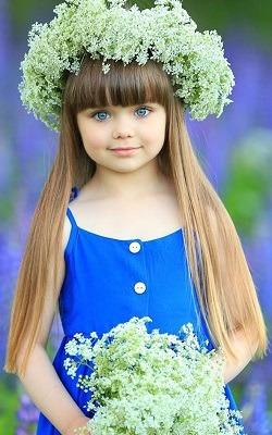 Được mệnh danh là cô bé xinh đẹp nhất thế giới với đôi mắt xanh thẳm say đắm lòng người, siêu mẫu nhí đẹp không góc chết giờ ra sao? - Ảnh 8.
