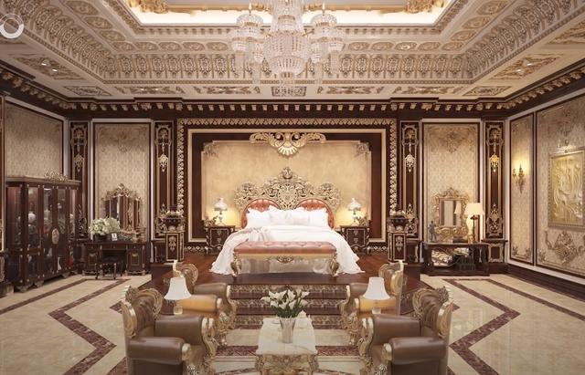 Lạc lối trong cung điện của đại gia Thành Thắng Group: Cao bằng toà nhà 18 tầng, diện tích sàn 15.000m2, 20 phòng ngủ, dát vàng khắp nơi  - Ảnh 16.