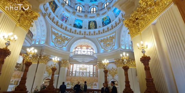 Lạc lối trong cung điện của đại gia Thành Thắng Group: Cao bằng toà nhà 18 tầng, diện tích sàn 15.000m2, 20 phòng ngủ, dát vàng khắp nơi  - Ảnh 6.