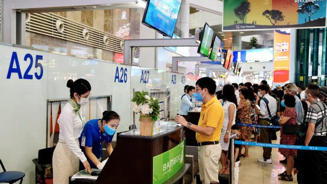 Cục Hàng không: Sân bay Nội Bài vẫn khai thác bình thường  - Ảnh 1.