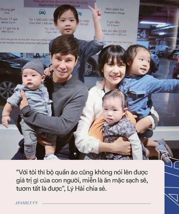 Gia đình siêu giàu nhưng vợ chồng Lý Hải - Minh Hà lại áp dụng cách không ngờ để con có quần áo mới, ai nghe cũng phải gật gù khen - Ảnh 2.