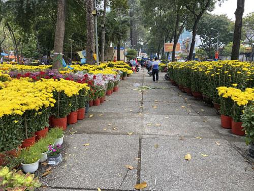 Hoa Tết vắng người mua Sức mua giảm mạnh, thương lái bỏ cọc, chưa khi nào hoa Tết lại ế ẩm như năm nay - Ảnh 1.