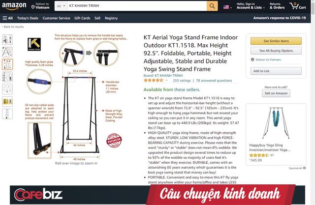 """Cú lội ngược dòng của startup từng bị các Shark Việt Nam chê """"ngáo giá"""", sản phẩm chỉ là """"mấy thanh sắt"""": Tuyên bố được """"cá mập"""" Mỹ hỗ trợ, nhận hàng trăm đánh giá 5 sao trên Amazon  - Ảnh 2."""