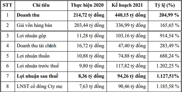 TEG: Chưa kịp ghi nhận lãi dự án, năm 2021 đặt kế hoạch lãi sau thuế tăng cao 11 lần lên 94 tỷ đồng - Ảnh 1.