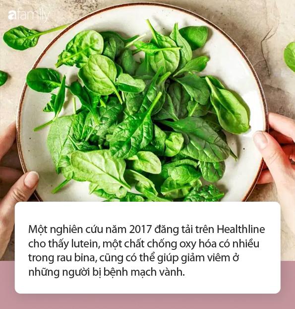 Điều gì sẽ xảy ra với cơ thể khi bạn ăn cải bó xôi đều đặn mỗi ngày? - Ảnh 2.