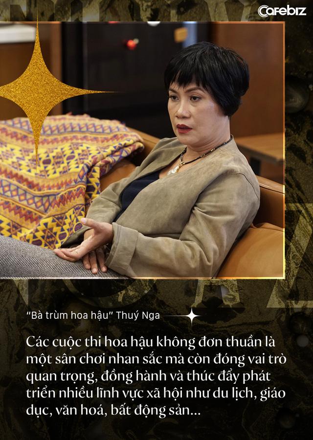 Bà trùm hoa hậu Thuý Nga – TGĐ Elite Việt Nam: Các cô gái Việt dễ nhìn hơn các nước láng giềng, nhưng hiếm thấy nhan sắc nổi bật vì các em đang tự triệt tiêu cá tính của mình  - Ảnh 8.