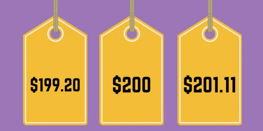 Chiến lược định giá thiên tài đằng sau những con số 99k, 199k, 299k... trong các cửa hàng, siêu thị - Ảnh 1.