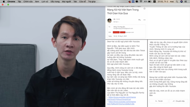Thơ Nguyễn quyết định tắt kiếm tiền trên các kênh YouTube, ẩn toàn bộ video và gửi lời xin lỗi phụ huynh cùng các em nhỏ - Ảnh 2.