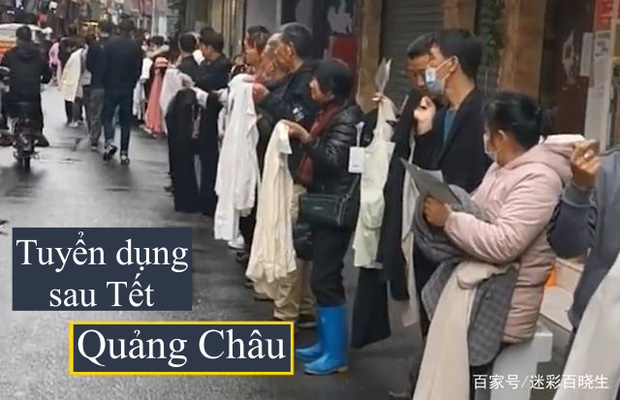 Chuyện ngược đời ở xưởng may thế giới Quảng Châu: Các boss xếp hàng dài chào mời mức lương cao, công nhân vẫn chẳng buồn quẹo lựa - Ảnh 1.
