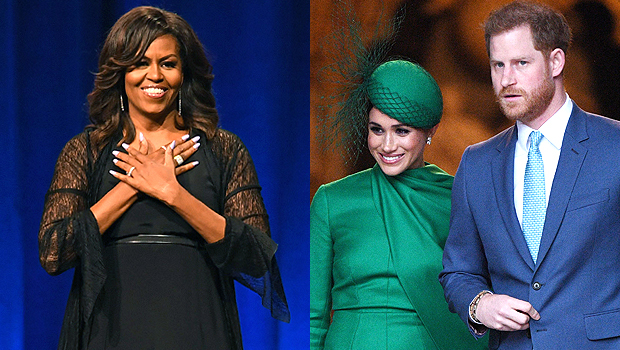 Cựu đệ nhất phu nhân Mỹ Michelle Obama đưa ra lời khuyên cho vợ chồng Meghan Markle chỉ bằng 1 câu nói thâm thúy - Ảnh 1.