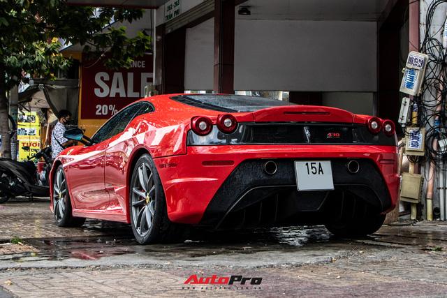 Ferrari F430 Scuderia từng của doanh nhân Hải Phòng lộ diện sau hơn 3 tháng nằm showroom - Ảnh 13.