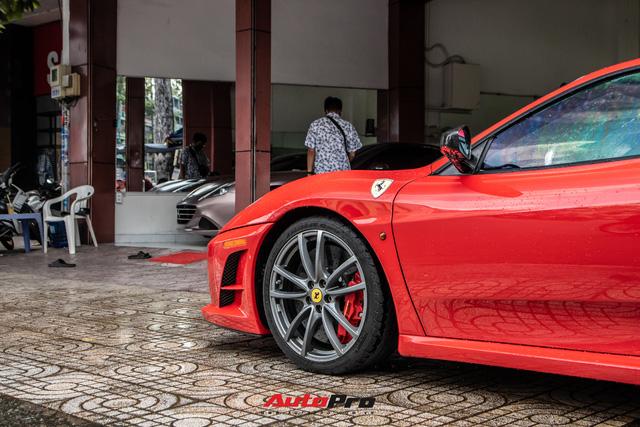 Ferrari F430 Scuderia từng của doanh nhân Hải Phòng lộ diện sau hơn 3 tháng nằm showroom - Ảnh 3.