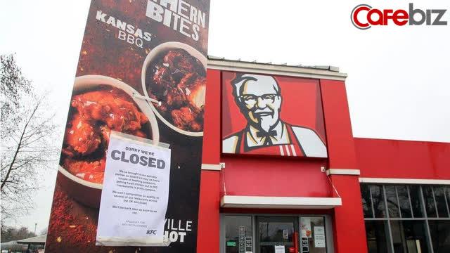 Chiến dịch marketing cứu KFC khỏi thảm họa hết gà trong 3 tháng, phải đóng cửa hàng loạt cơ sở, thua lỗ nặng nề - Ảnh 1.