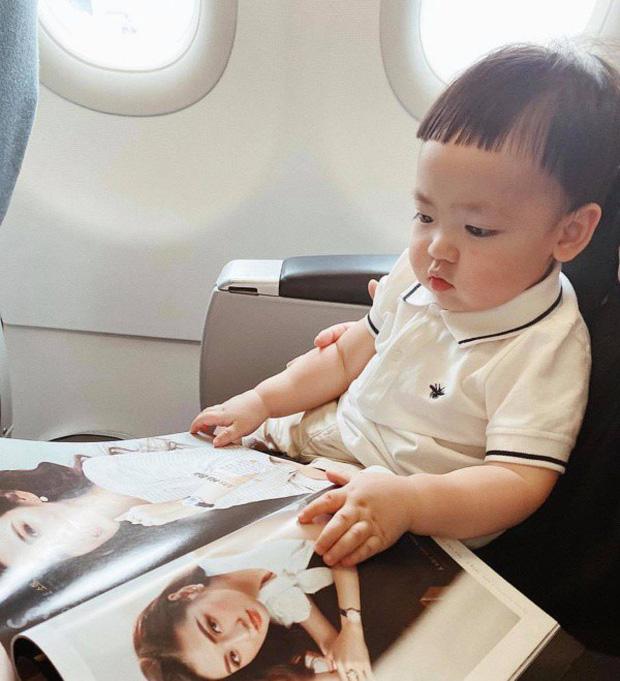 Á hậu kết hôn với thiếu gia ngành xây dựng, con trai sinh ra đã ngậm thìa vàng, 2 tuổi được bố mẹ gửi gắm vào trường học phí đắt nhất Hà thành  - Ảnh 4.