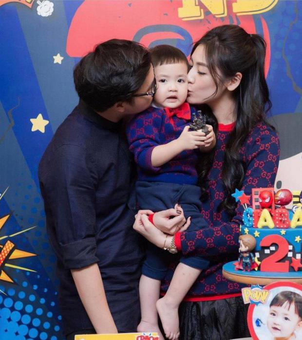 Á hậu kết hôn với thiếu gia ngành xây dựng, con trai sinh ra đã ngậm thìa vàng, 2 tuổi được bố mẹ gửi gắm vào trường học phí đắt nhất Hà thành  - Ảnh 6.