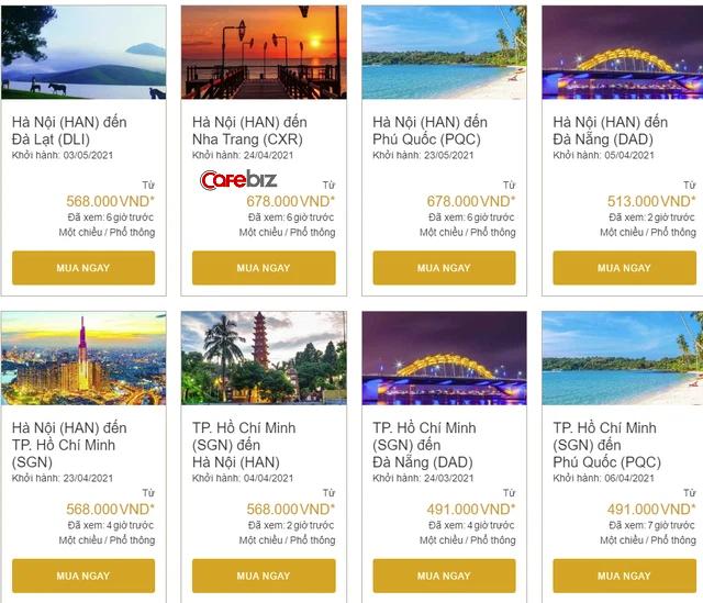 Giá vé hàng loạt chặng bay nội địa chạm đáy: Không đi du lịch bây giờ thì là bao giờ?  - Ảnh 1.