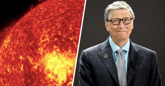 Tham vọng tầm vóc vũ trụ của Bill Gates: Làm mờ... ánh Mặt trời  - Ảnh 1.