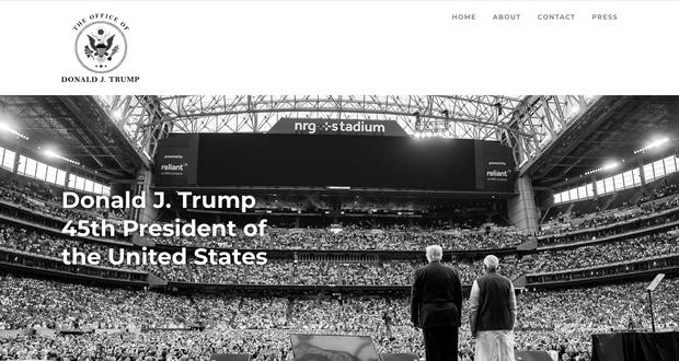 Donald Trump chính thức giới thiệu trang web chính thức của Tổng thống Mỹ thứ 45 - Ảnh 2.