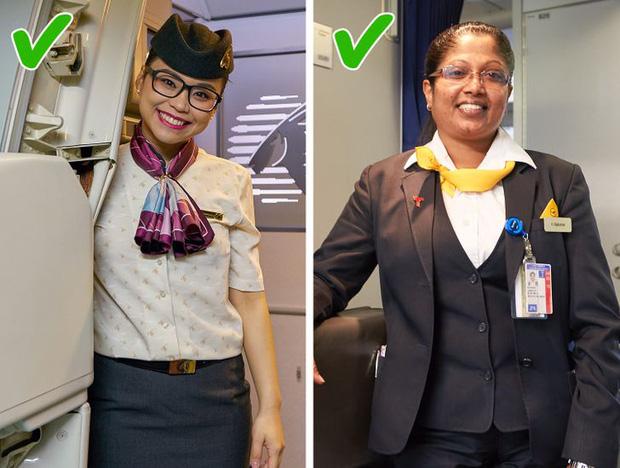Những điều cực cấm kị đối với các tiếp viên hàng không trên máy bay, đọc xong mới biết nghề này khắt khe cỡ nào - Ảnh 17.